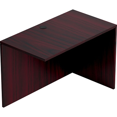Offices To Go™ Furniture Collection in American Mahogany, 42x24 Return Shell