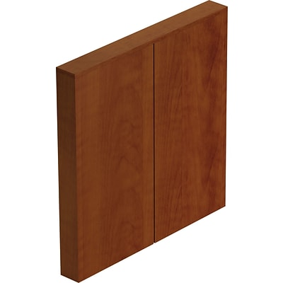 Offices To Go® Laminate Boardroom Presentation Board (Assembled), American Dark Cherry, 48x48x4