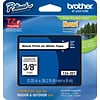 Brother TZE221 Label Maker Tape, 0.35W, Black On White