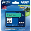 Brother TZe 3/4 Tape Black on Green