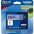 Brother TZe 1 Label Tape Black on Clear