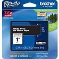 Brother TZe 1 Label Tape White on Black