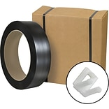 Postal-Approved Poly Strapping Kit, 1/2 x 9,000, 1 Kit