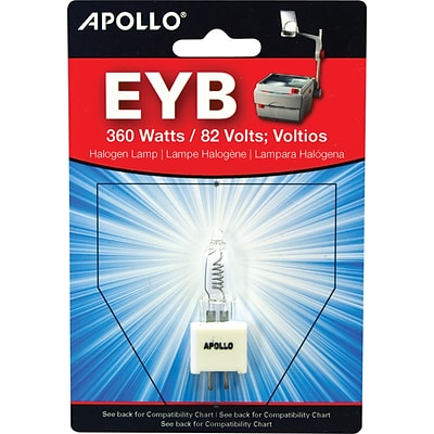 Apollo® 360 Watt Overhead Projector Lamp, 82 Volt, 2-Pin, Ceramic Base