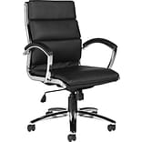 Offices To Go® Black Leather Executive Chair