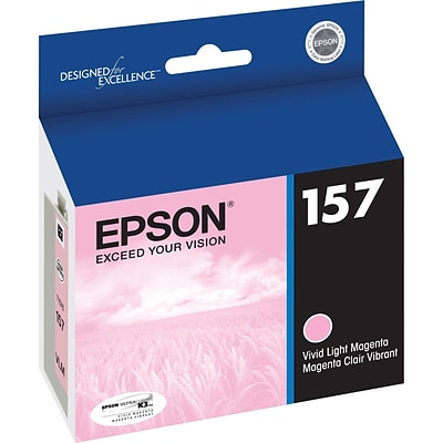 Epson 157 Vivid Light Magenta Ink Cartridge (T157620)