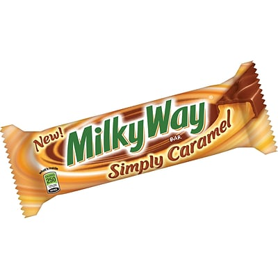 Milky Way® Simply Caramel, 1.91 oz. Bars, 24 Bars/Box