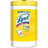 Lysol 110Ct.  Lemon & Lime Disinfecting Wipes