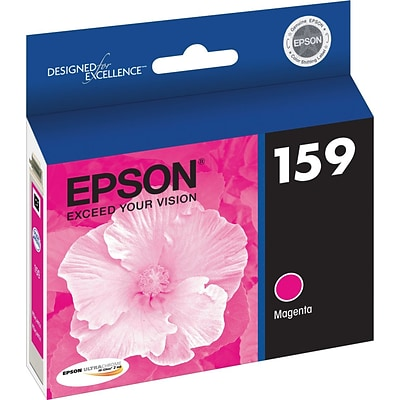 Epson 159 Magenta Ink Cartridge, Standard (T159320)