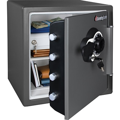 Sentry® Fire-Safe® Combination Safe, 1.23 Cubic Feet