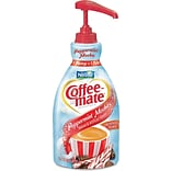 Nestle® Coffee-mate® Liquid Coffee Creamer, Pump Dispenser, Peppermint Mocha, 1.5 Liter