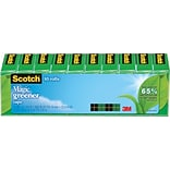 Scotch® Magic™ Greener Tape; 3/4 x 900, 10/Pack