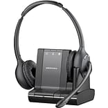 Plantronics® Savi 720 Wireless VoIP Headset, Binaural