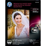 HP Premium Plus Photo Ppr; Hi-Gloss, 5x7