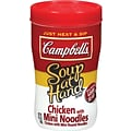 Campbells® Microwaveable Soup at Hand, Chicken with Mini Noodles, 10.75 oz. Cans, 8 Cans/Box