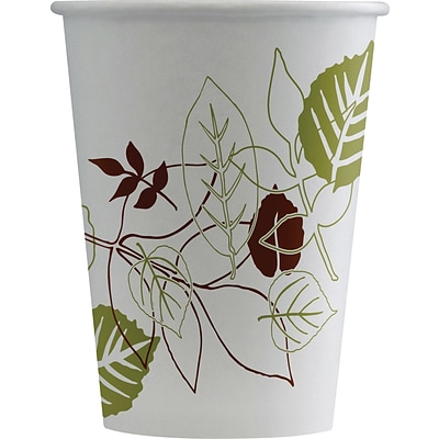 Dixie Pathways Paper Cold Cups, 12 oz., 50/Pack (12FPWS)