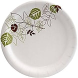 "Dixie® Pathways® Medium-Weight Paper Plate 7"", 125/Pack (UX7WS)"