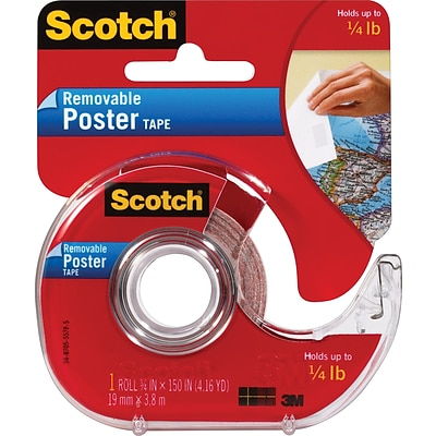 Scotch® Wall Saver Removable Poster Tape