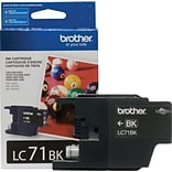 Brother Ink Cartridge; Black (LC71BKS)