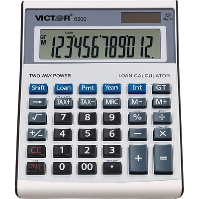 Victor® 6500 Executive Desktop Financial Calculator, With Loan Wizard