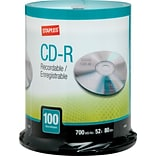10366 700MB CD-R, Spindle, 100/Pack