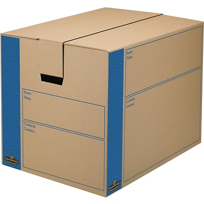 Bankers Box® Moving Boxes, SmoothMove™, Large, 6/Pack