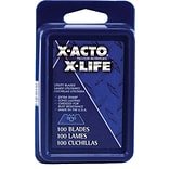 X-Acto® X-Life™ Heavy-Duty #92 SurGrip® Utility Knife Blade, Black, 100/Pack
