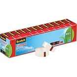 Scotch® Transparent Greener Tape; 3/4 x 900, 12/Pack