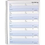 Rediform® Voice Mail Telephone Message Log Book, Follow-Up Format, 500 Messages, 10 5/8 x 8