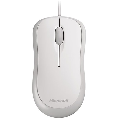Microsoft®  Basic Optical Mouse, USB Wired, White (P58-00062)