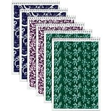 TOPS® Designer Wide Ruled Pads; 6x9 Steno Pads; Assorted Colors