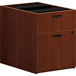 basyx by HON Box/File Pedestal, Medium Cherry, 19 1/4H x 15.63W x 21 3/4D