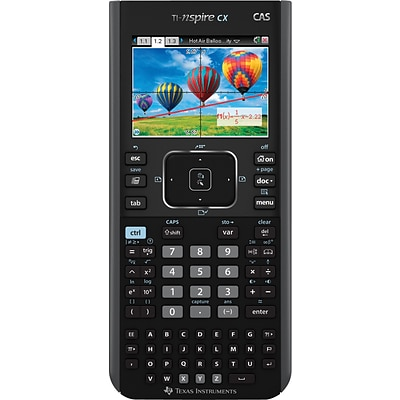 Texas Instruments® TI-Nspire CX CAS Graphing Calculator, Teacher Bundle