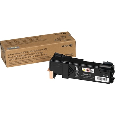 Xerox® 106R01597 Black High-Yield Laser Toner Cartridge