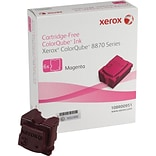Xerox ColorQube 8870 Magenta Solid Ink Sticks (108R00951); 6/Pack