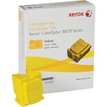 Xerox ColorQube 8870 Yellow Solid Ink Sticks (108R00952); 6/Pack