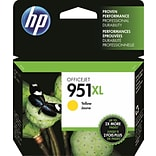 HP 951XL Ink Cartridge, Yellow (CN048AN), High Yield