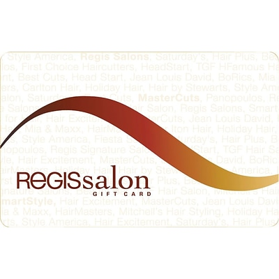 Regis Salon Gift Card $25