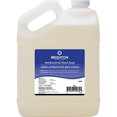 Brighton Professional™ Antibacterial Hand Soap, Scented, 1 Gallon, 4/Ct