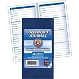 Adams® 6-1/4x3-1/4 Password Journal