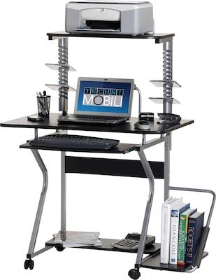 Techni Mobili Multi-Functional Mobile Workstation Computer Desk,