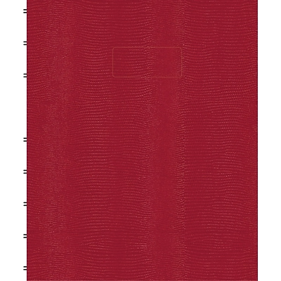 Blueline® MiracleBind™ Business Notebook, Red Hard Cover, Pages Can Be Repositioned, 150 Pages / 75 Sheets, 9-1/4 x 7-1/4