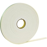 3M™ 4008 Double Sided Foam Tape, 3/4 x 5 yds., 1/8, 1/Pack