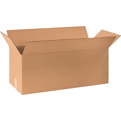30 x 10 x 10 Shipping Boxes, 32 ECT, Brown, 20/Bundle (301010)