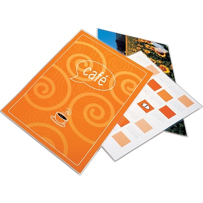 Swingline® GBC® EZUse™ Thermal Laminating Pouches, Menu Size, 5 Mil, 100 Pack