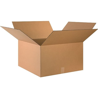 24(L) x 24(W) x 14(H) Shipping Boxes, 32 ECT, Brown, 10/Bundle (242414)