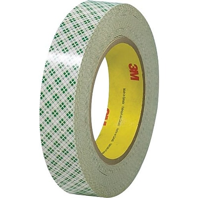 Scotch® #410 Double Sided Masking Tape, 1 x 36 yds., 3/Pack