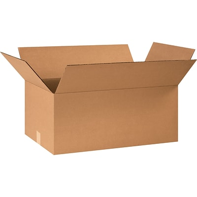 24 x 10 x 8 Shipping Boxes, 32 ECT, Brown, 25/Bundle (24108)
