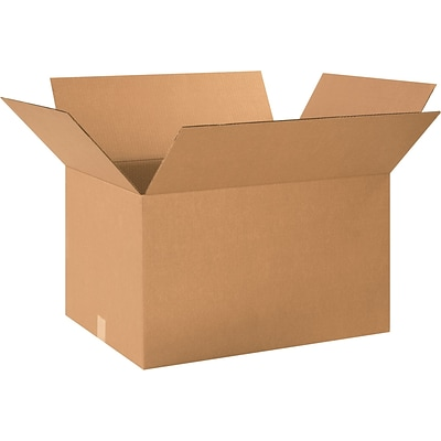 24(L) x 18(W) x 14(H) Shipping Boxes, 32 ECT, Brown, 15/Bundle (241814)