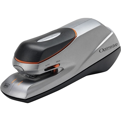Swingline® Optima® Grip Electric Stapler, 20 Sheet Capacity, Silver (48207)